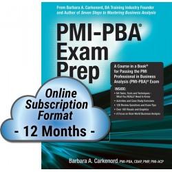 PMI-PBA® Exam Prep, Premier...